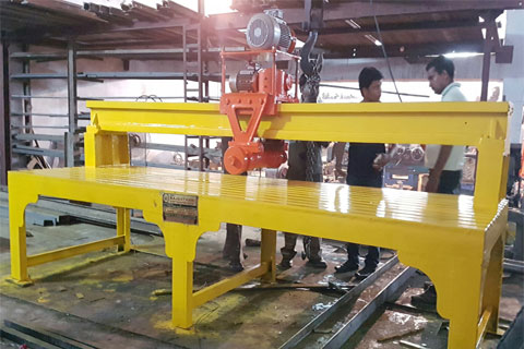 Multi Block Cutter Machine